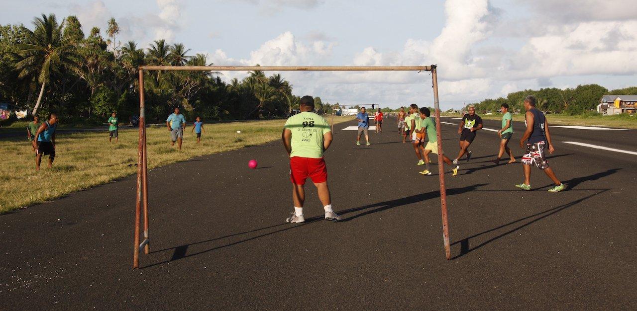 Tuvalu Airstrip