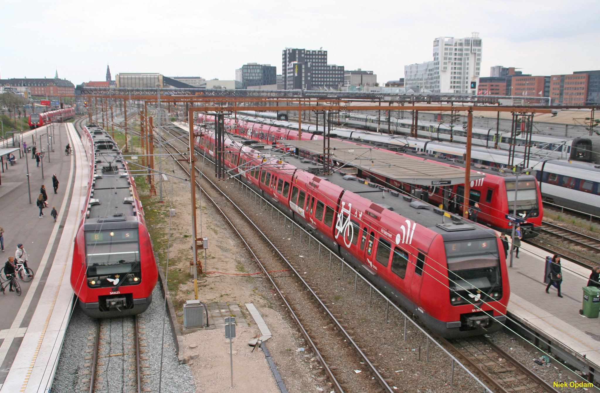 Copenhagen DSB airport train