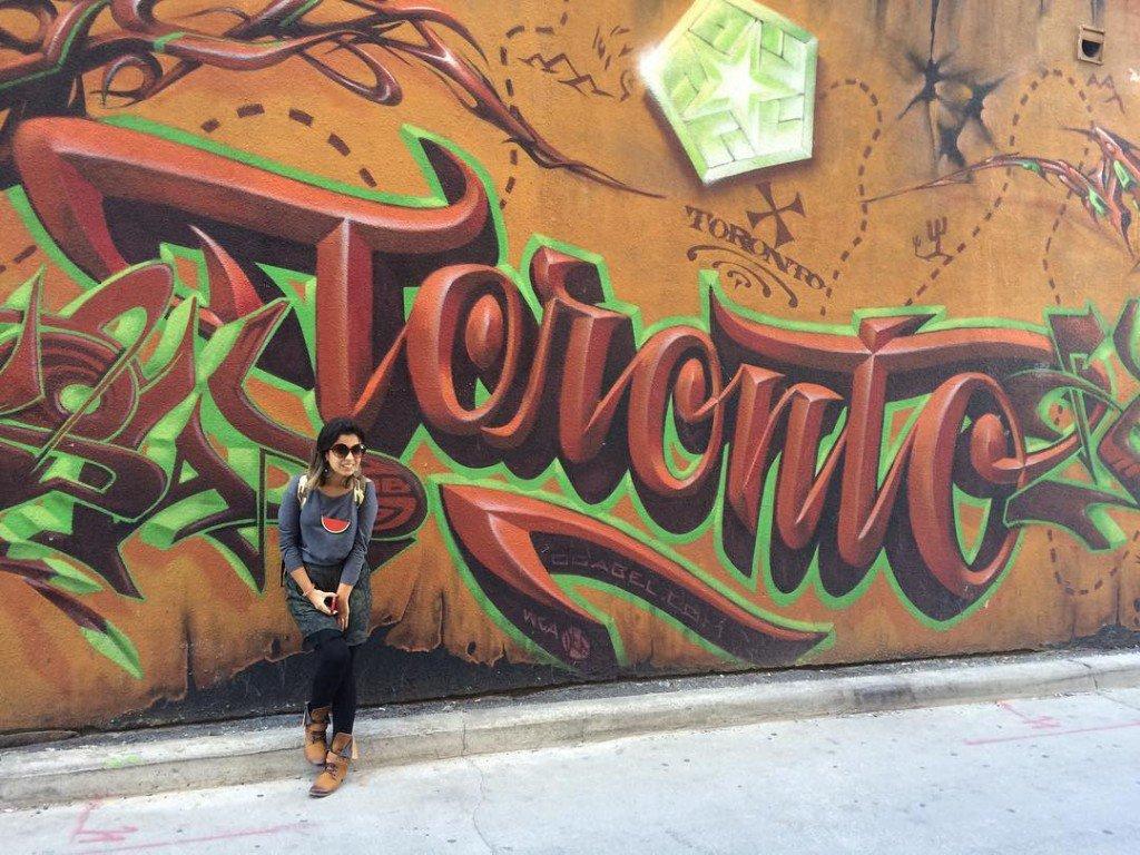 Toronto street art downtown