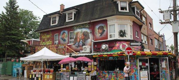 Kensington Market Toronto graffiti