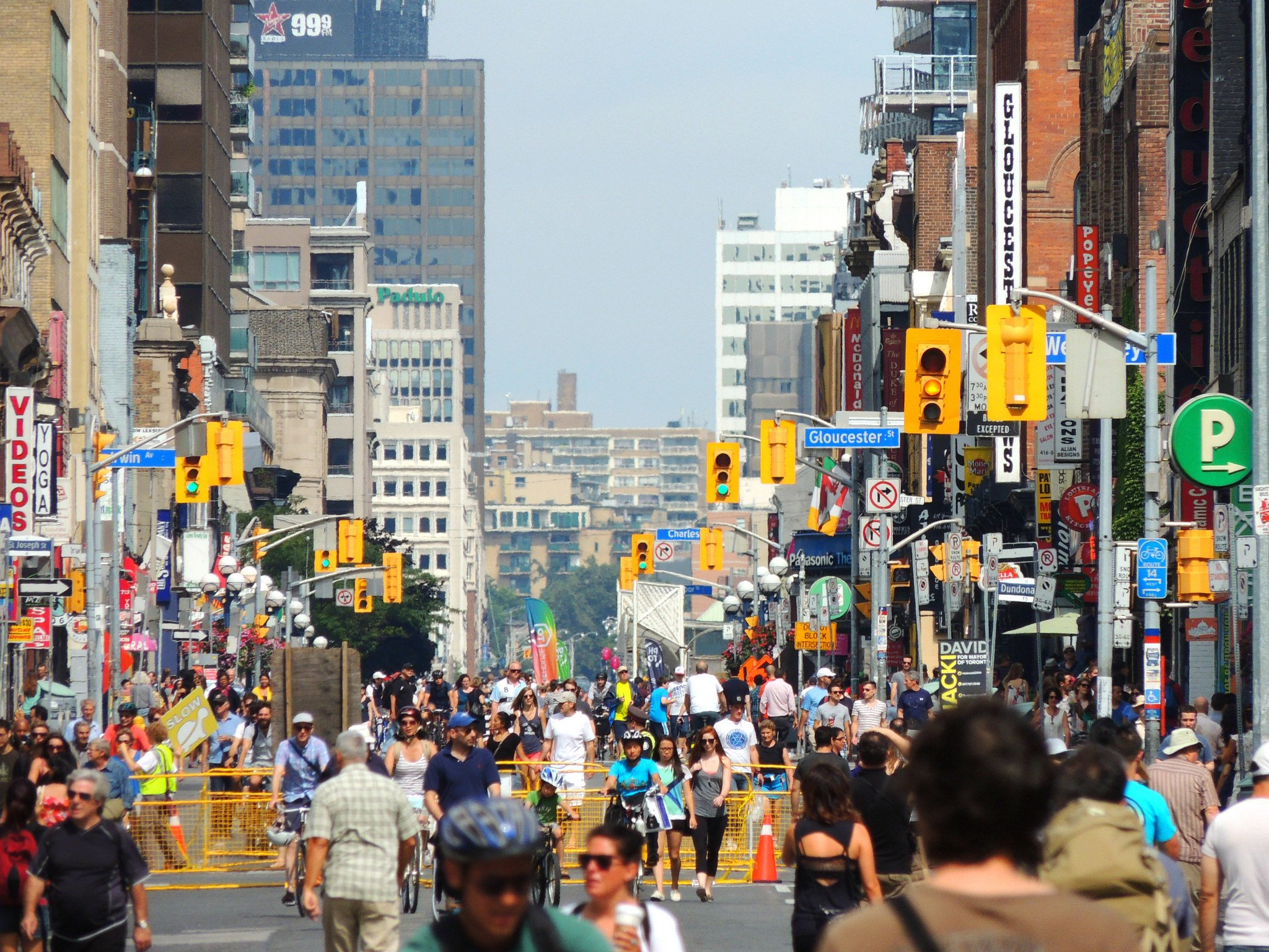 Toronto streets downtown