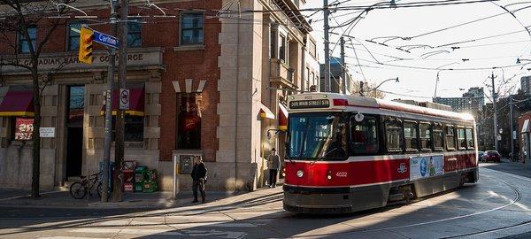 Toronto TTC streets