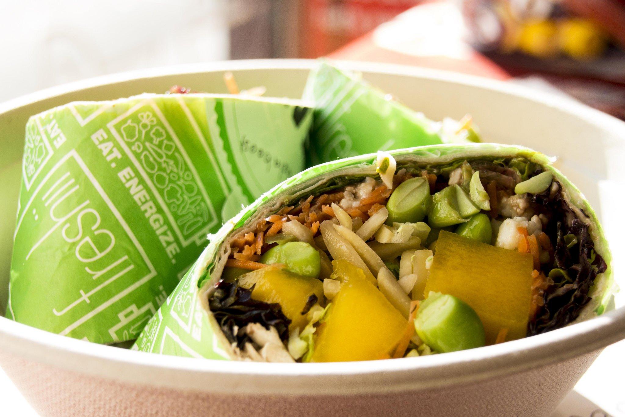 Toronto food Freshii burrito