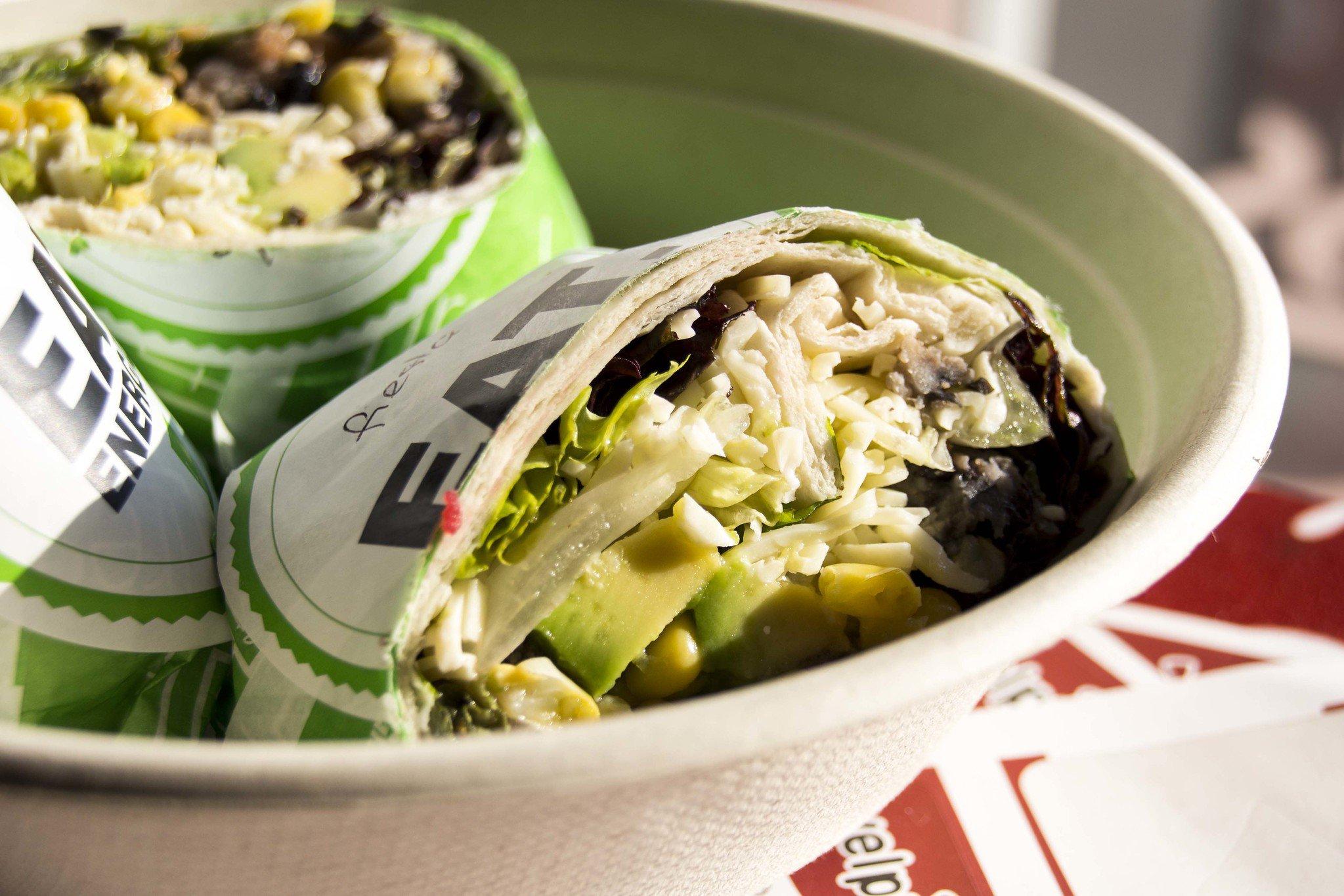 Freshii burrito healthy Toronto food