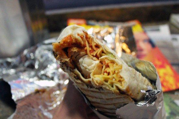 Chino Locos burrito Mexican Asian Toronto food