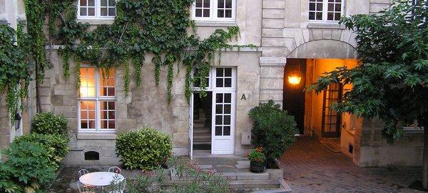 Paris MIJE courtyard