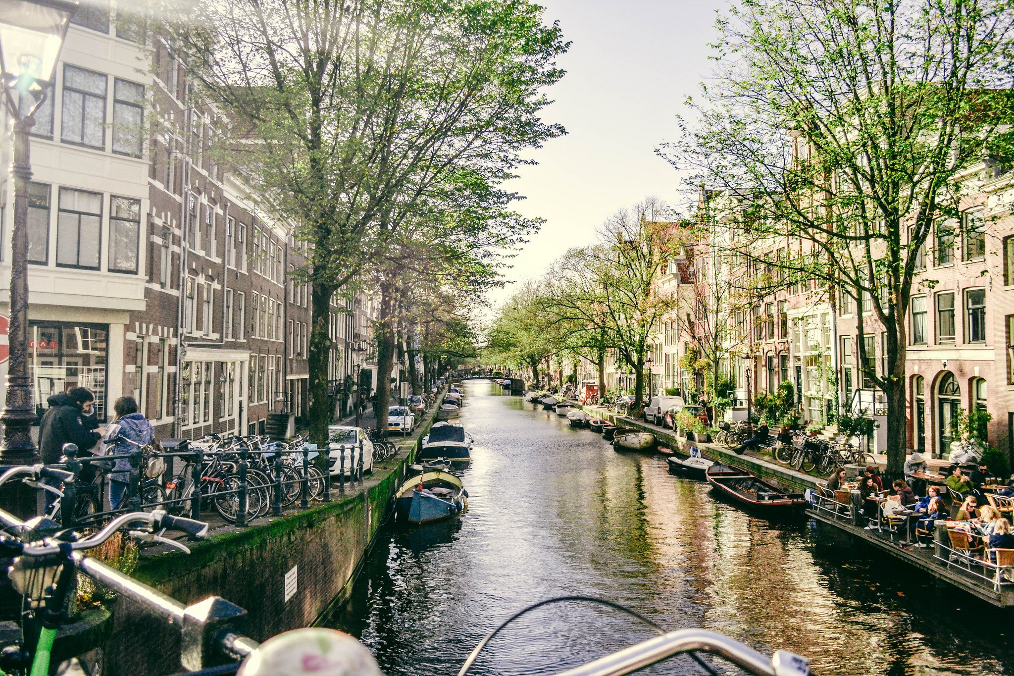 Amsterdam canal streets