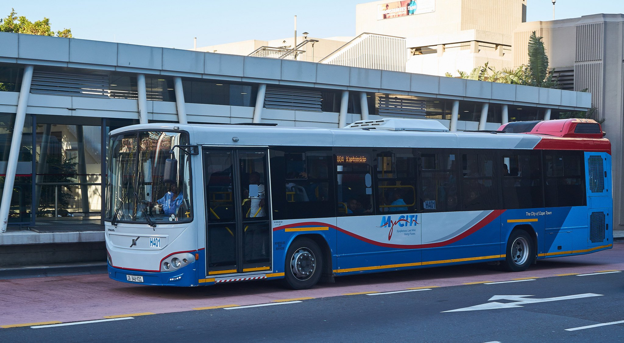 Cape Town South Africa airport bus