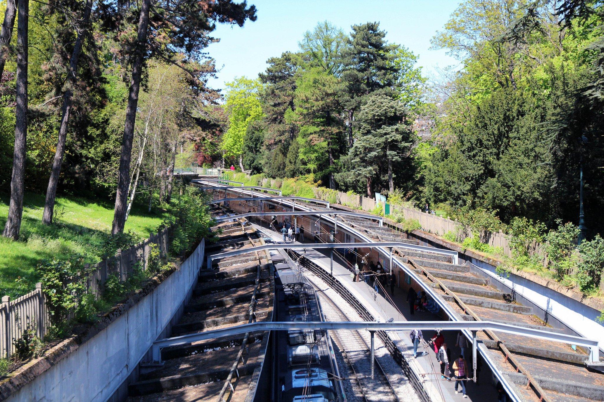Parc Mountsouris Paris