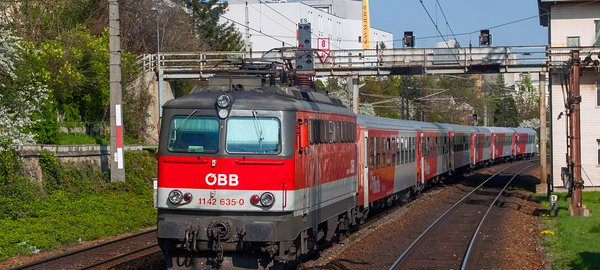 Vienna International Airport S7 Express Train