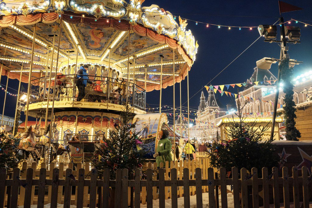 Christmas markets Moscow