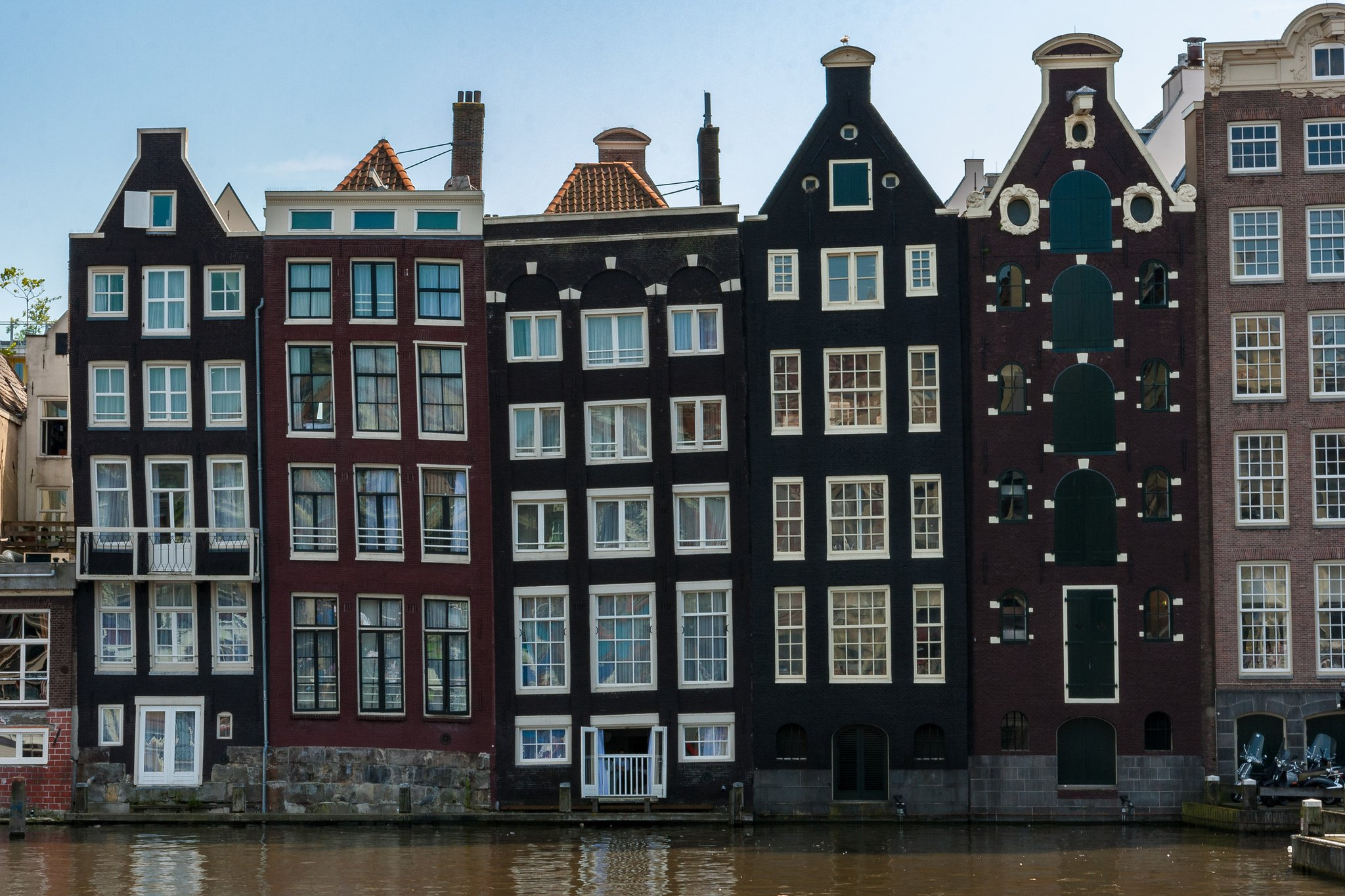 Amsterdam buildings canal