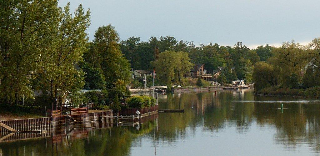 Nottasawa River Orangeville Ontario Cottage