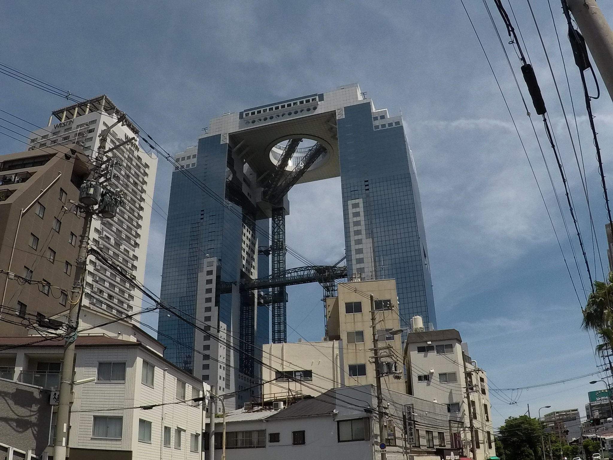 Osaka Japan building architecture
