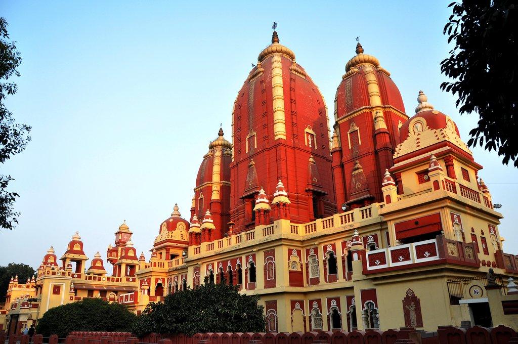 Delhi Hindu temple
