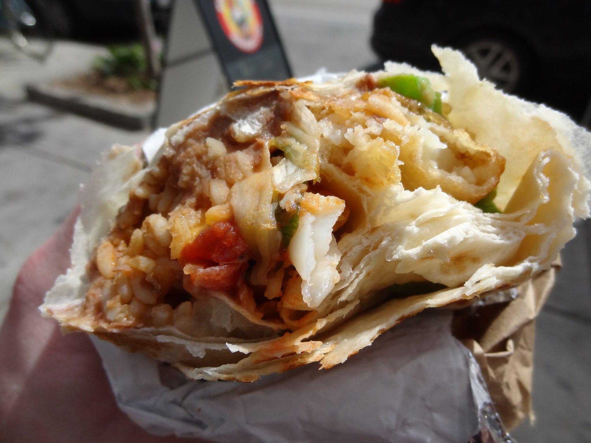 Toronto burrito food