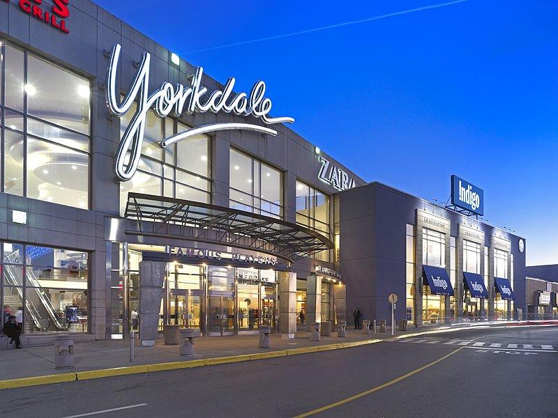 Yorkdale Mall Toronto shopping