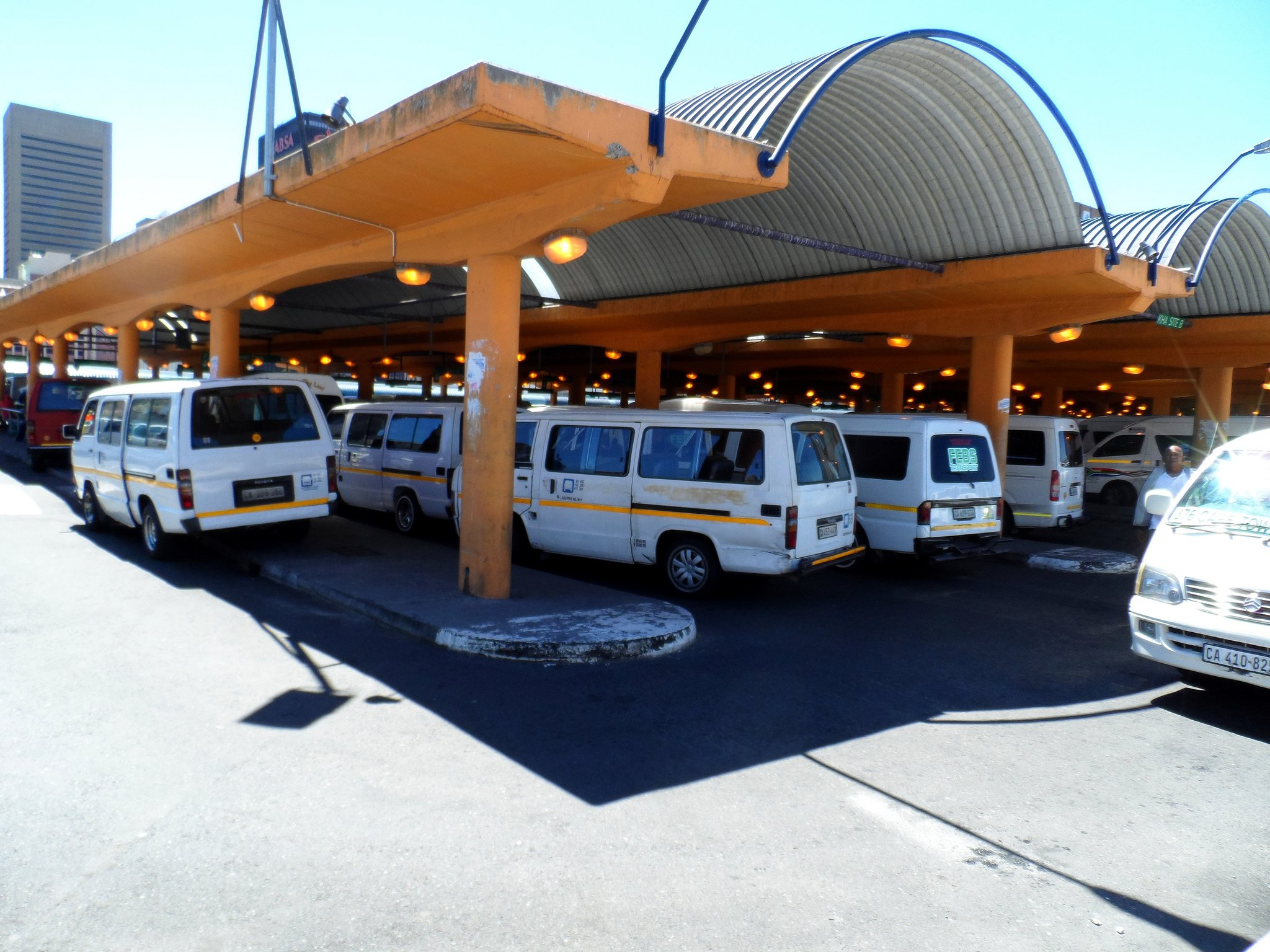 Cape Town South Africa airport taxi
