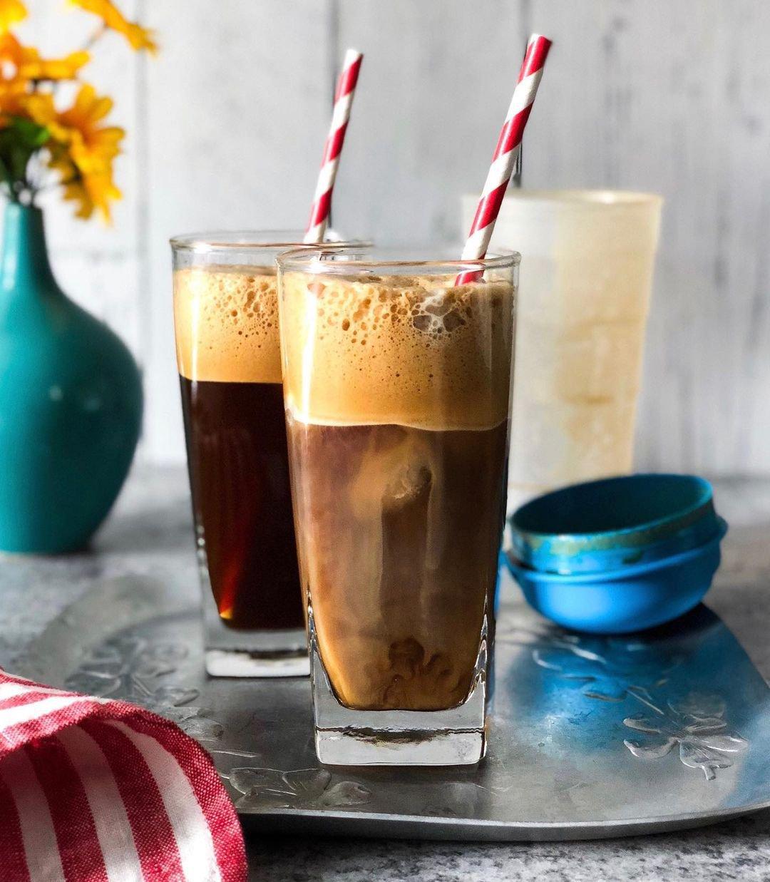 Frappé coffee