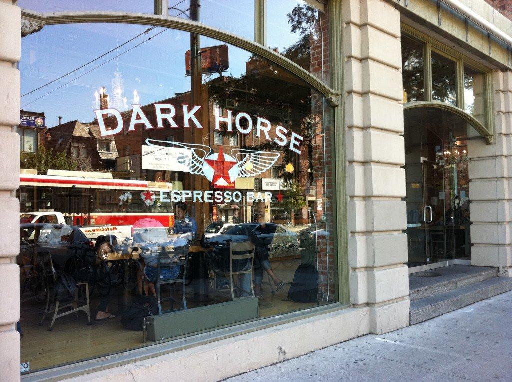 Toronto Dark Horse coffee shop