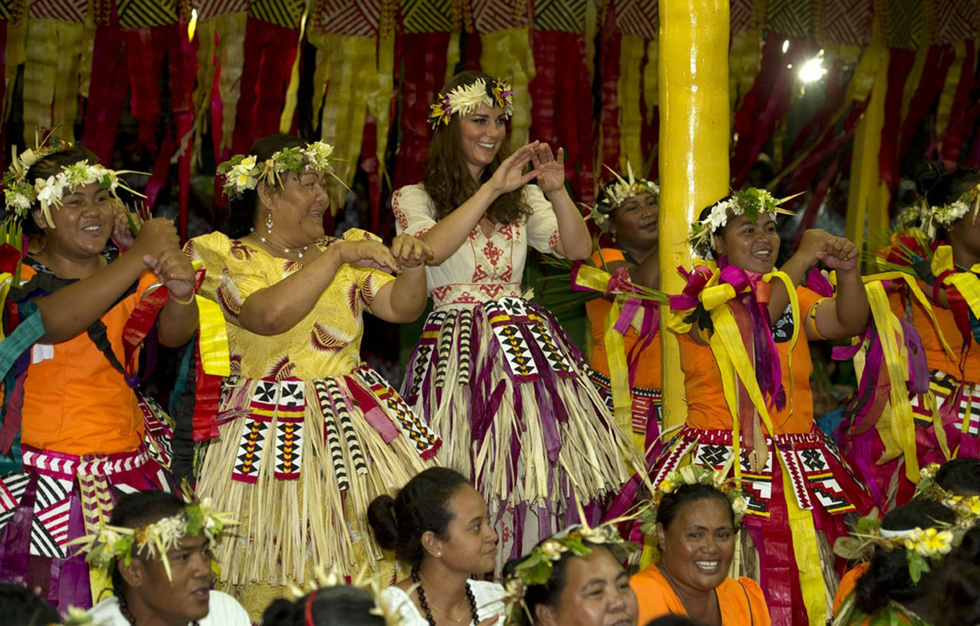 Kate Middleton visits Tuvalu