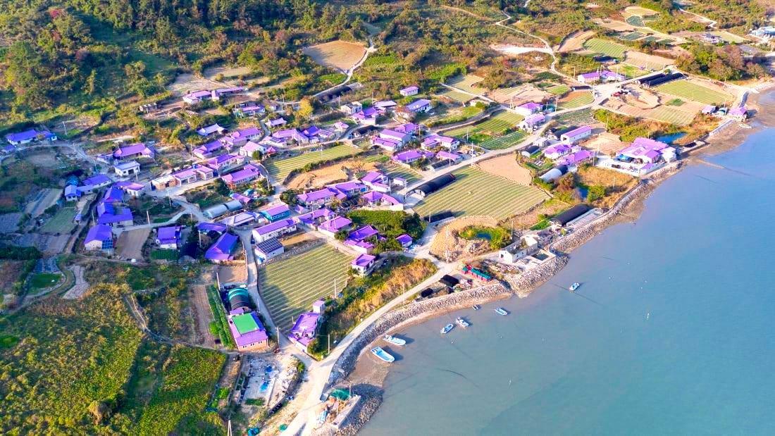 Korea Purple Island Aerial 4