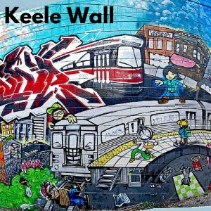 Toronto Graffiti Keele Wall