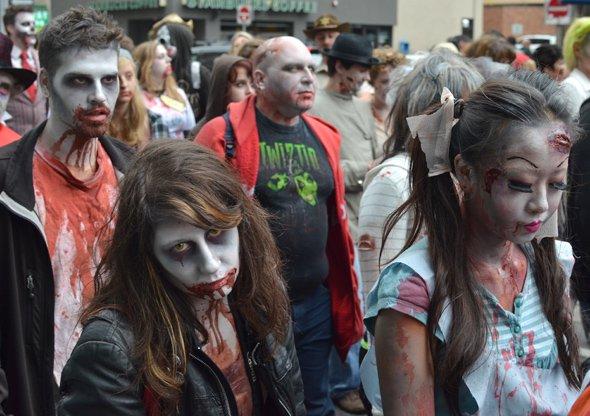 The Toronto Zombie Walk