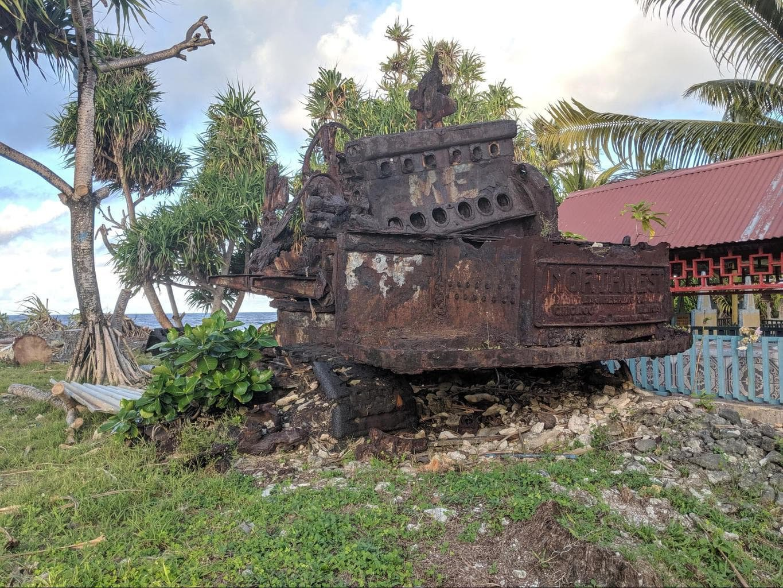 Tuvalu WWII Wrecks
