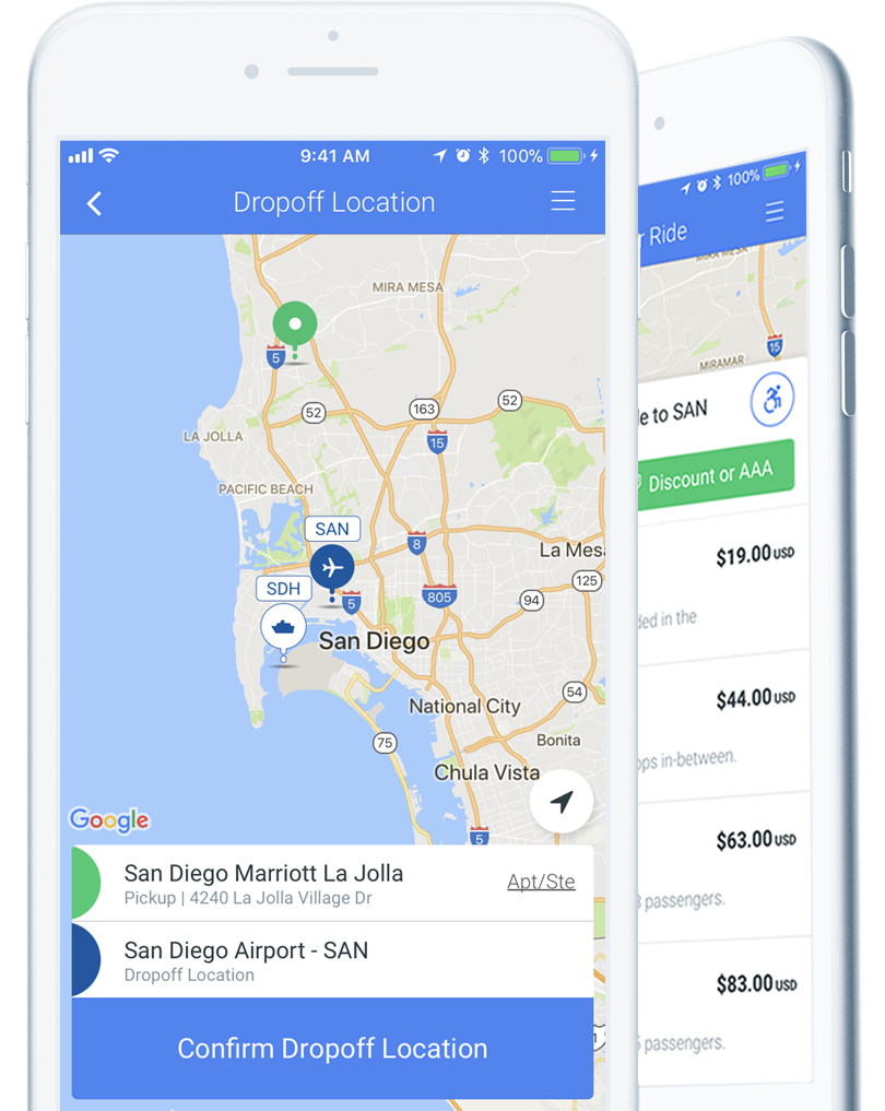 phone app San Francisco