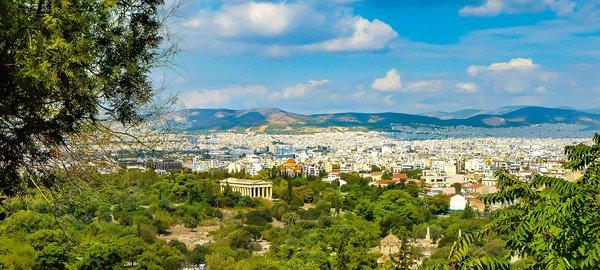 Athens city landscape
