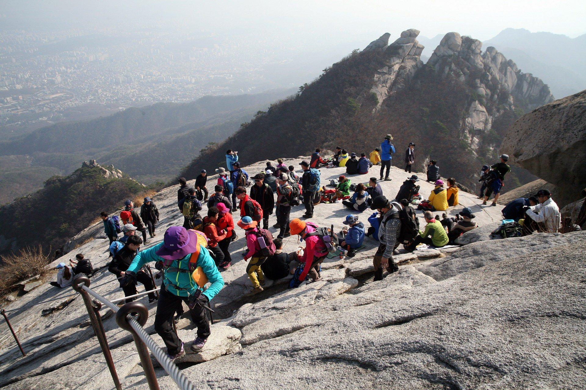 Seoul mountain