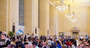 New York Grand Central station picnic event