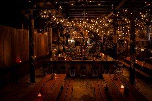 Chicago night restaurant