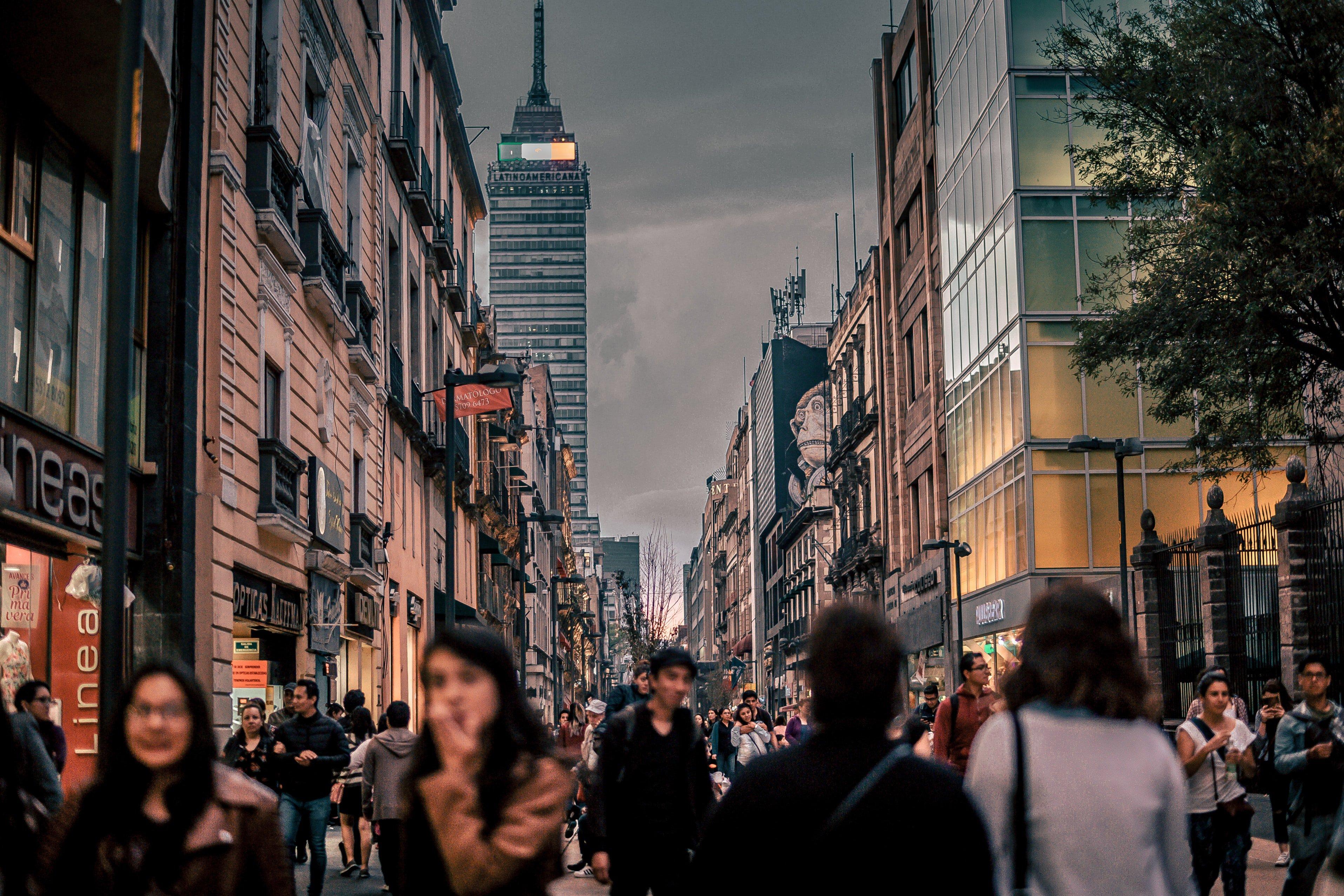 Mexico City Street Locals
