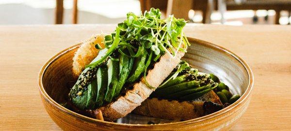 Toronto vegan food bowl restaurant
