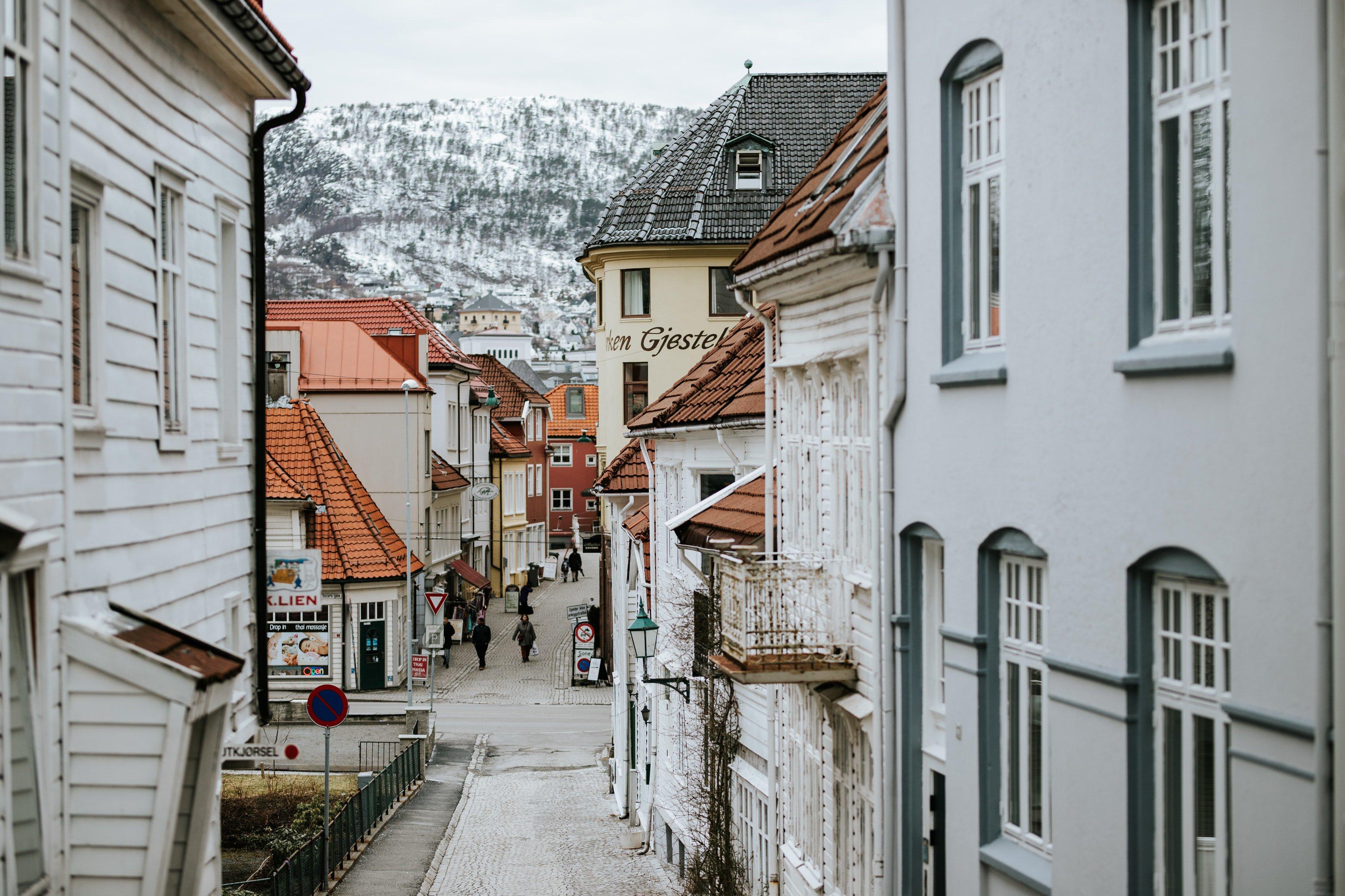 Bryggen streets
