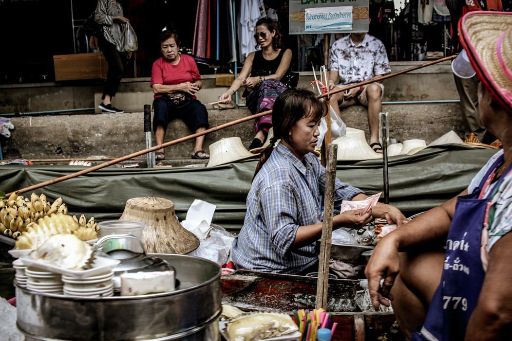 Bangkok Floating market - picture 1