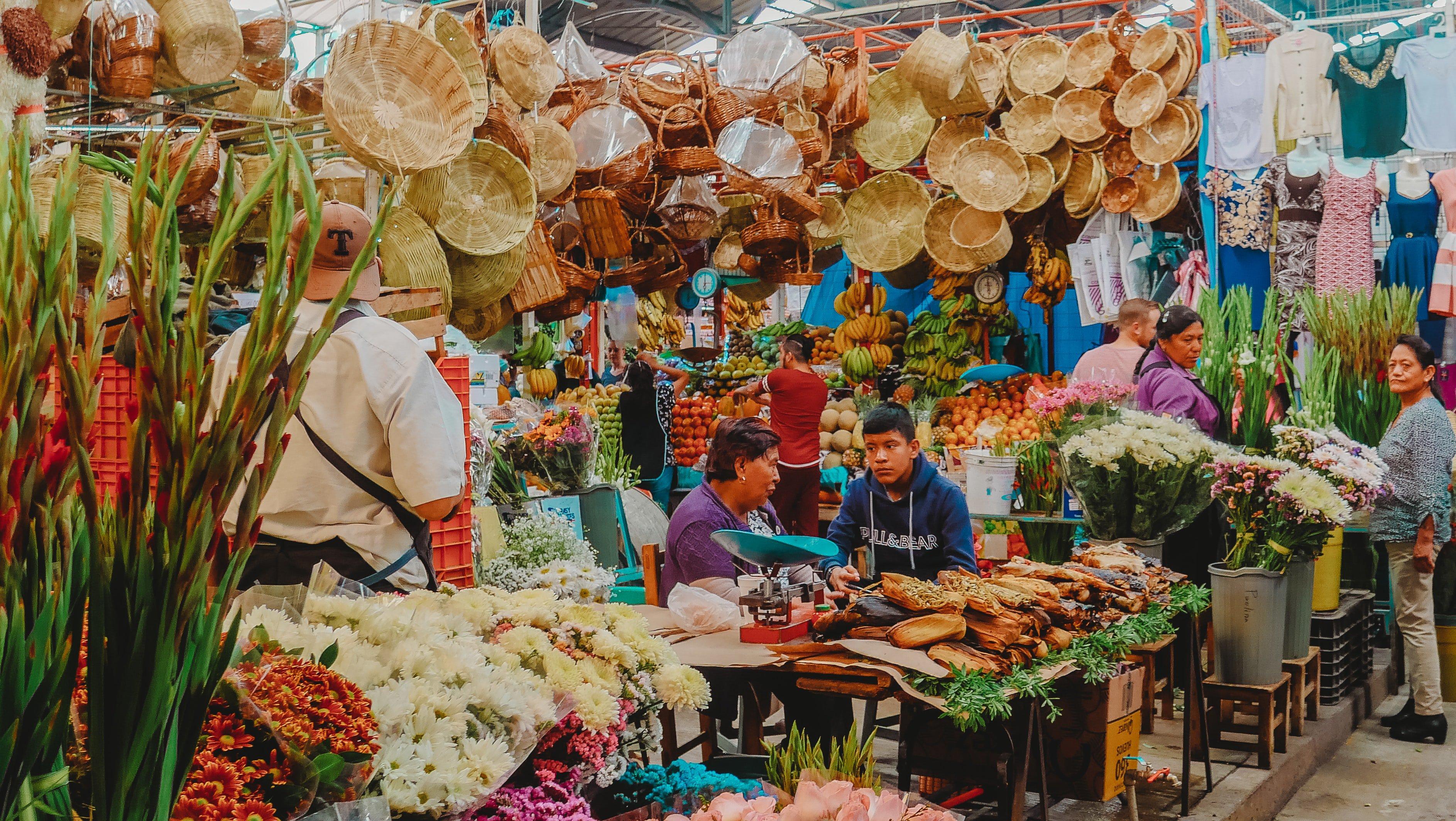 Traditional Mercados Mexico City