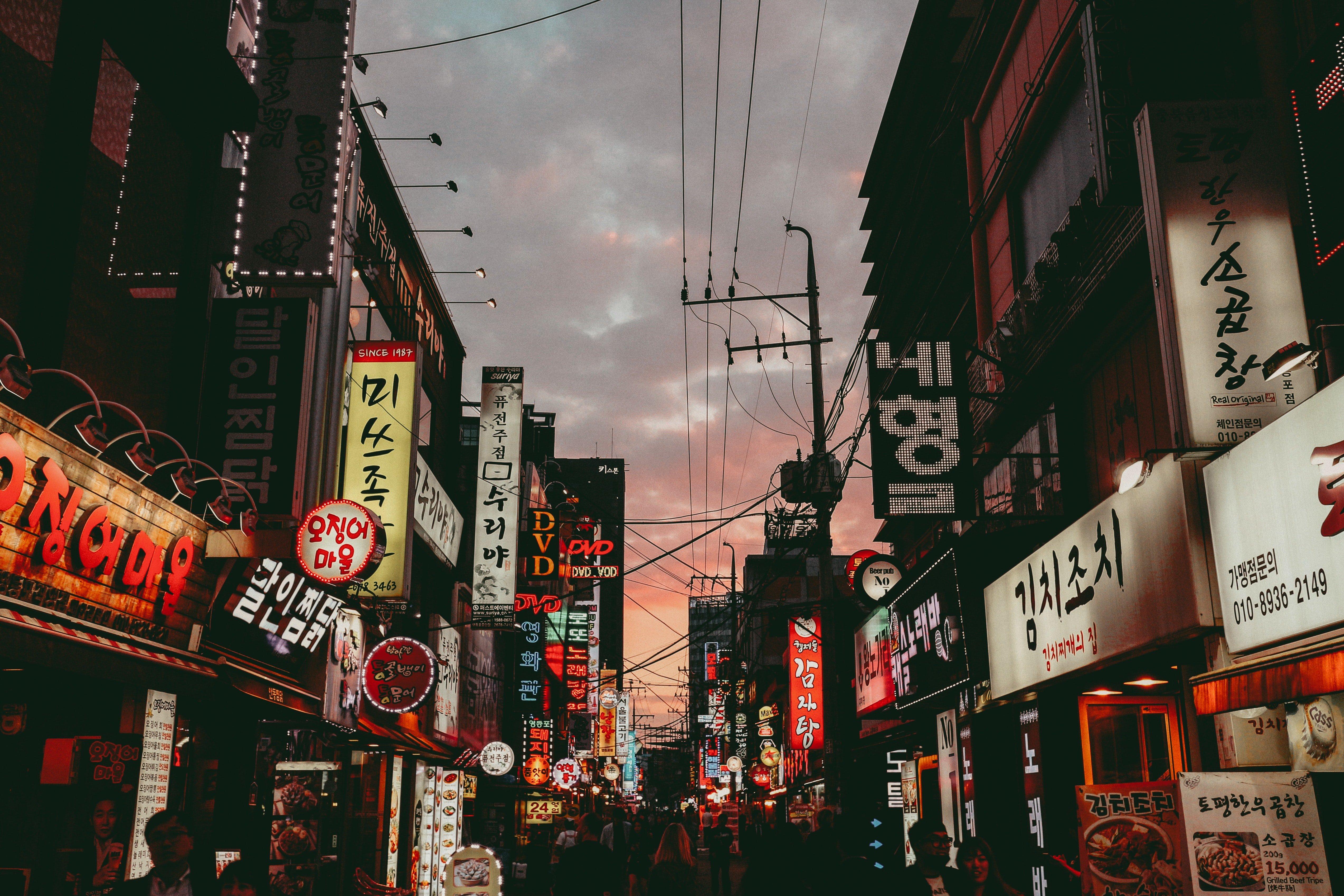 Korea Dongdaemun Night Market