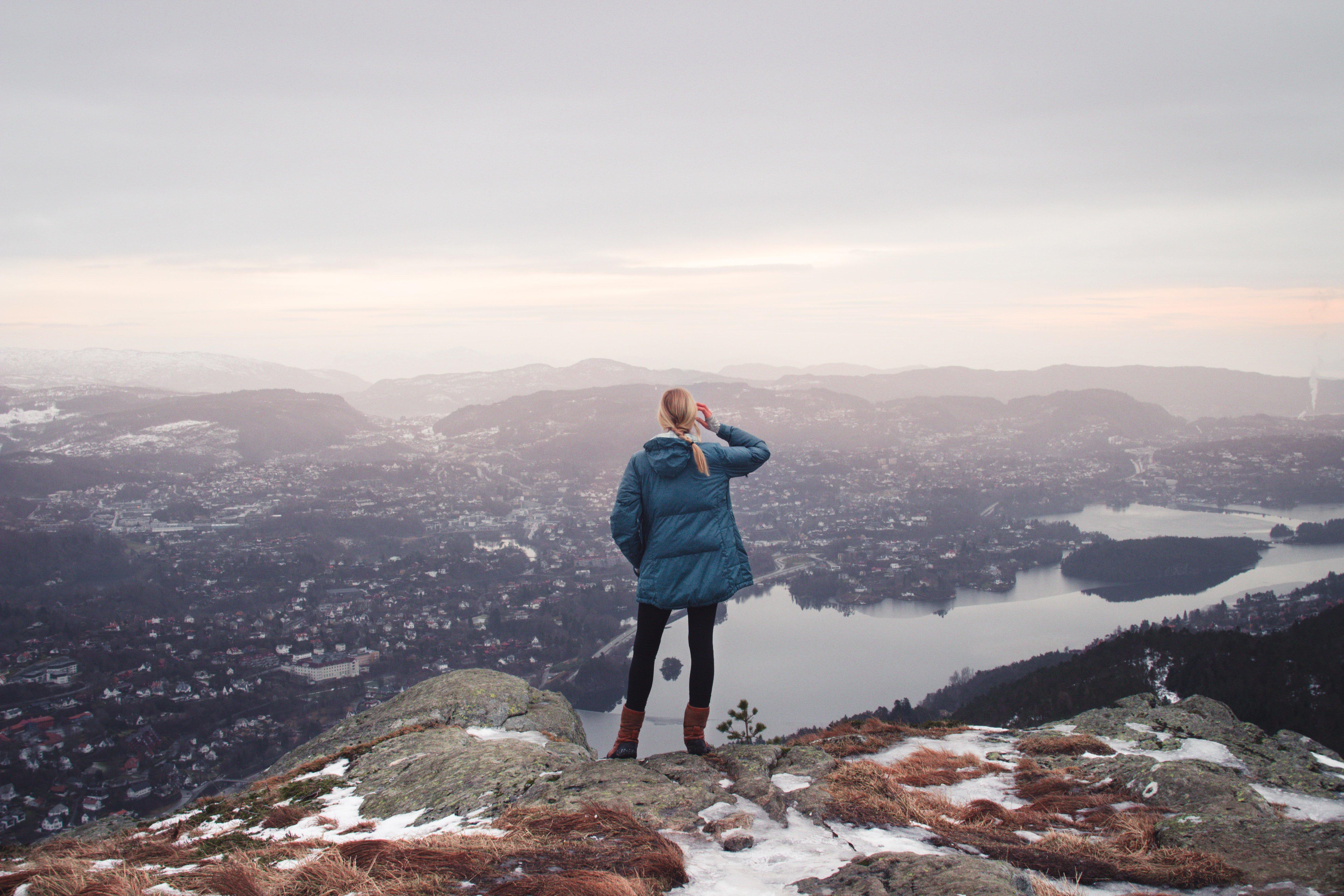 hiking Norway fjords