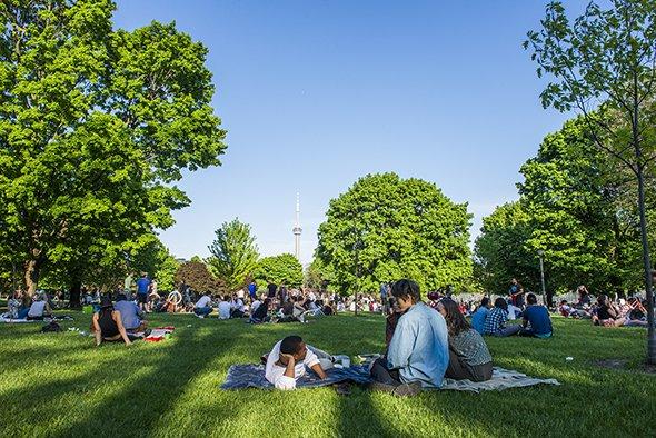 Toronto Trinity Bellwoods Park